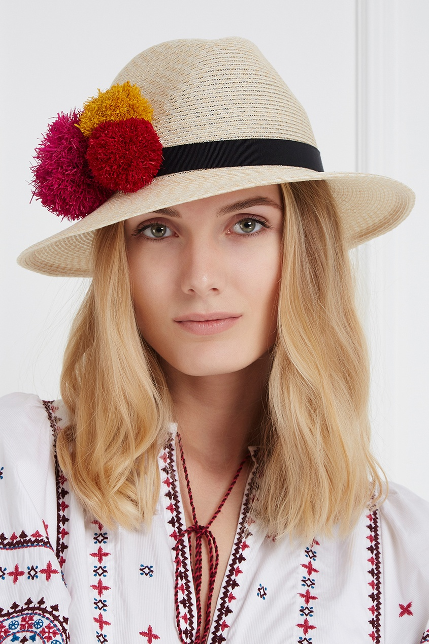Соломенная шляпа Lillian