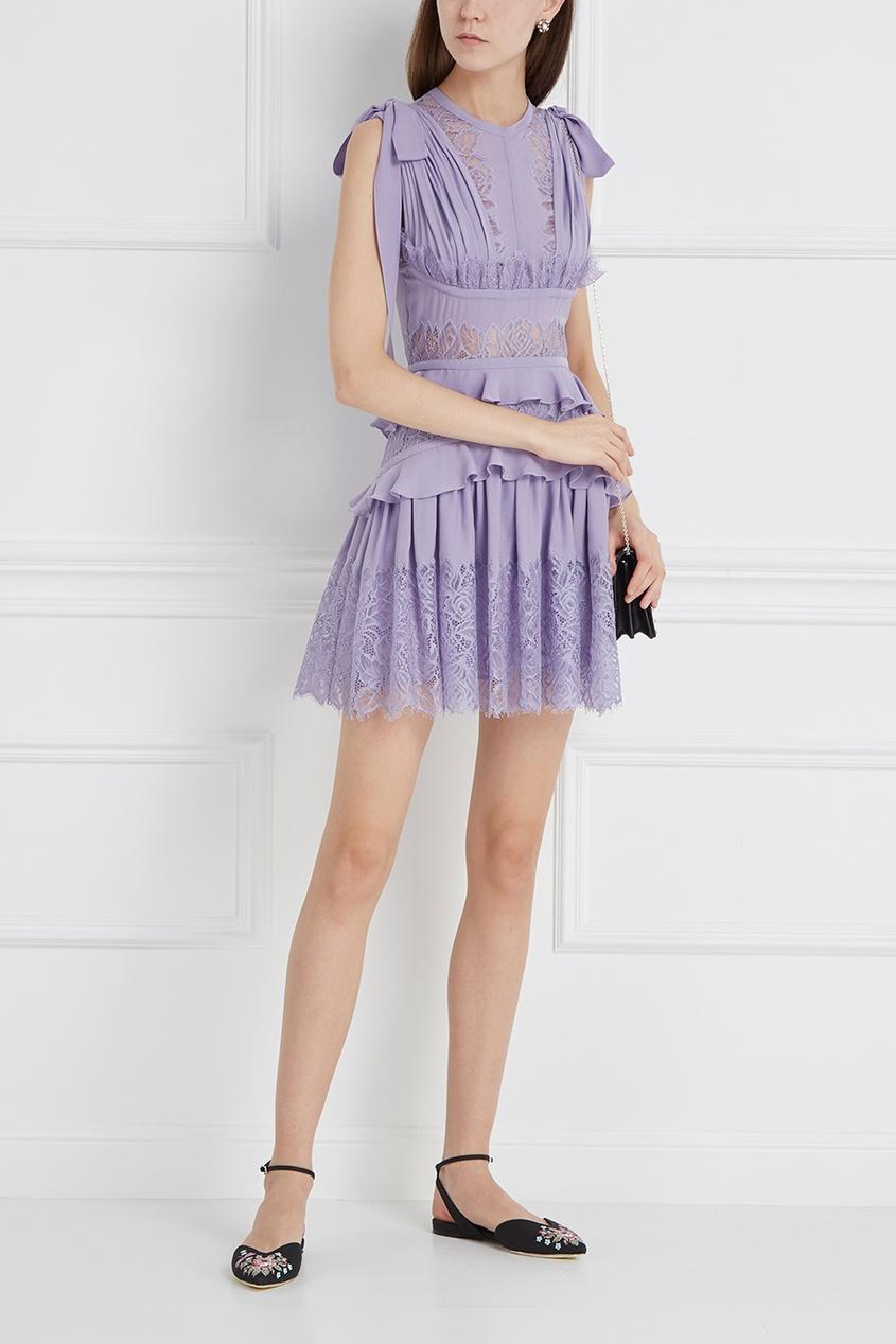 Elie Saab Шелковое платье