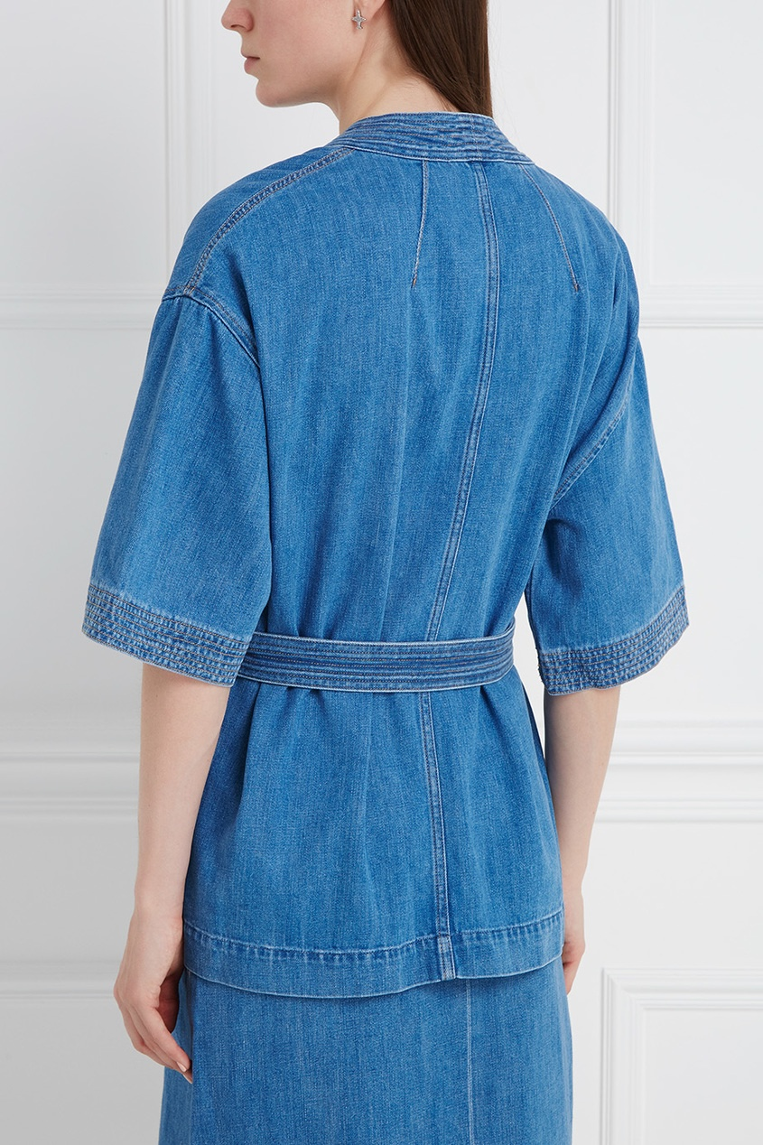 Джинсовый жакет Finn Kimono