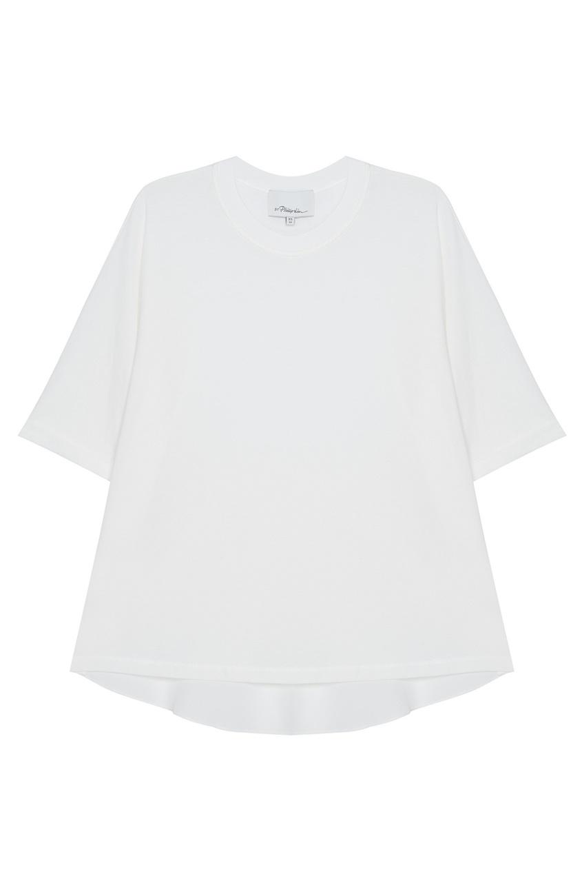 3.1 Phillip Lim Хлопковая футболка