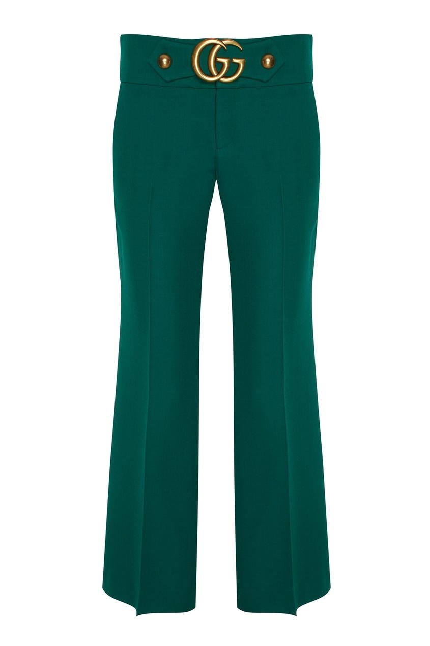 Gucci Шерстяные брюки gucci серые брюки