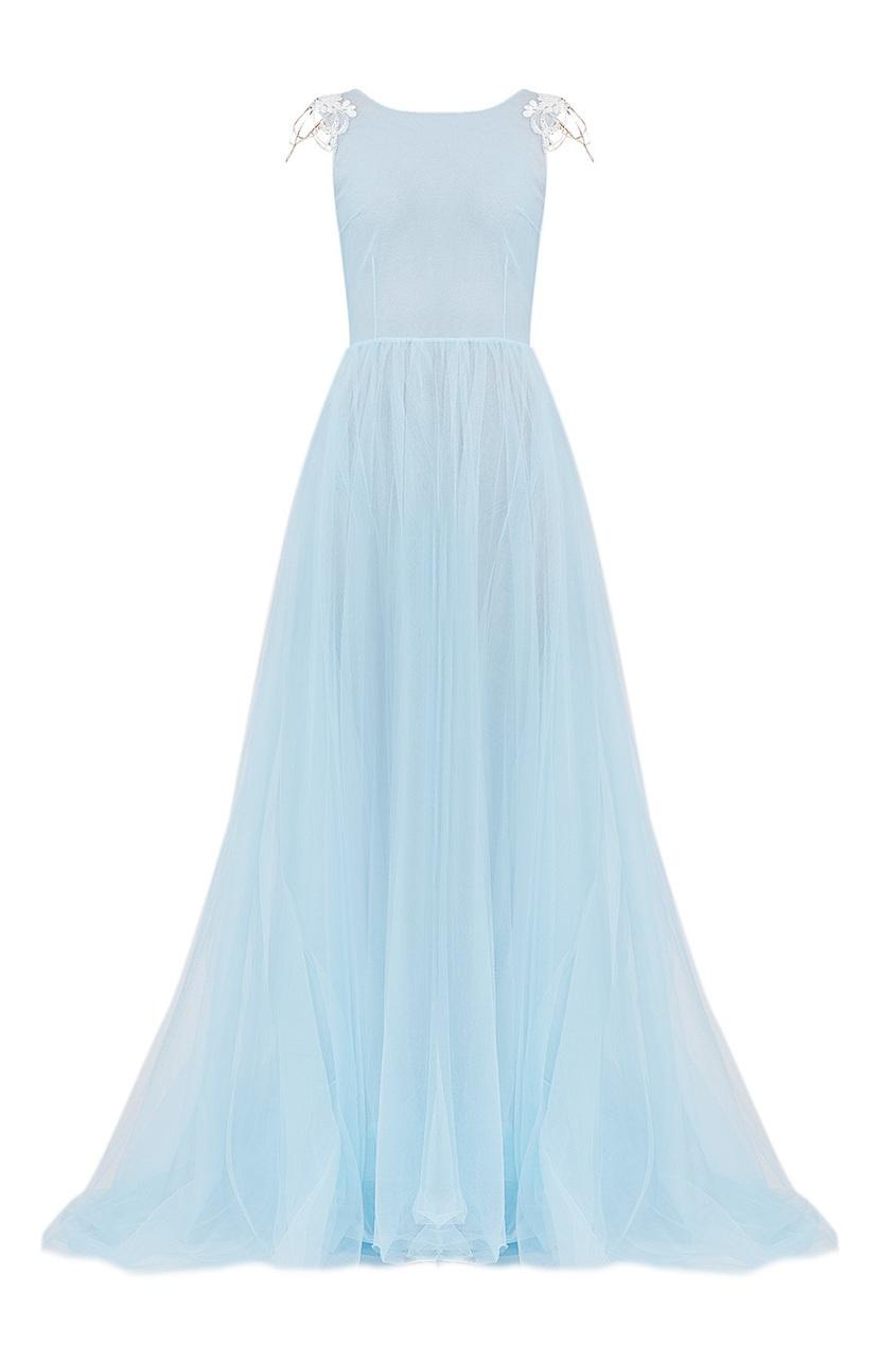 Платье Cape Flora Blue