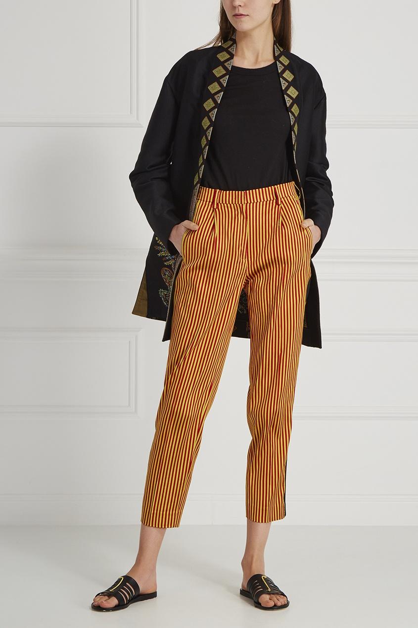 Etro Шелковые брюки