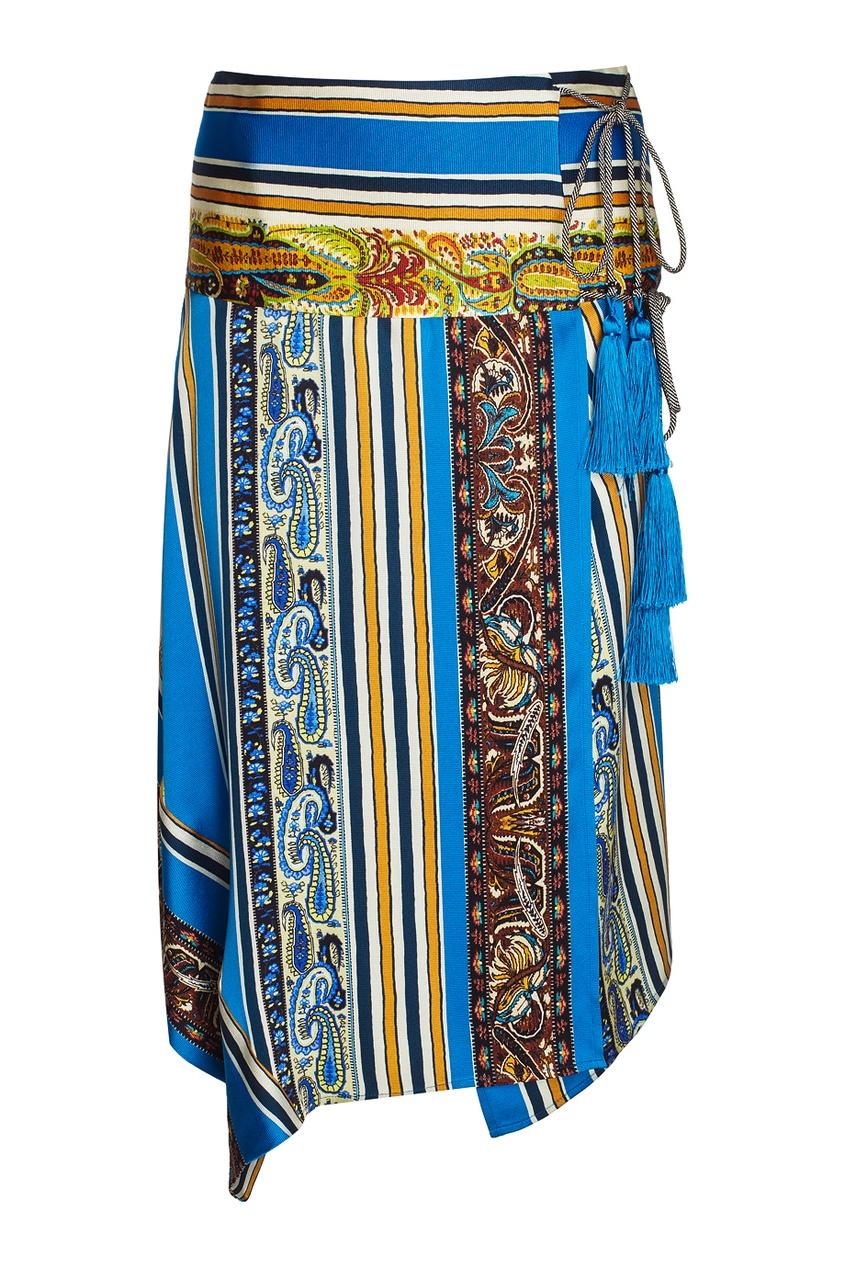 Etro Шелковая юбка