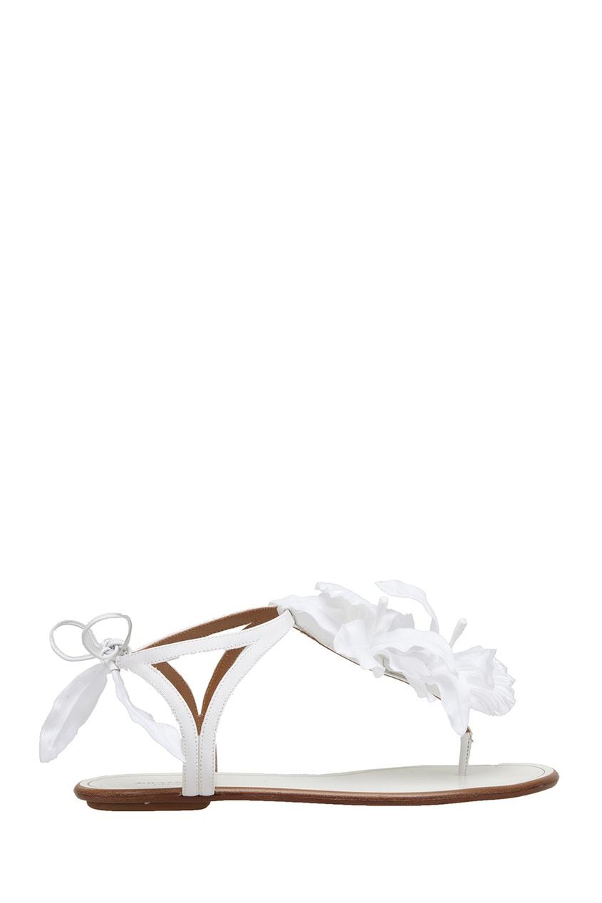 Замшевые сандалии Flora Sandal Flat Bridal