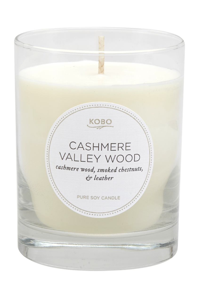 Kobo Candles Ароматическая свеча Cashmere Valley Wood