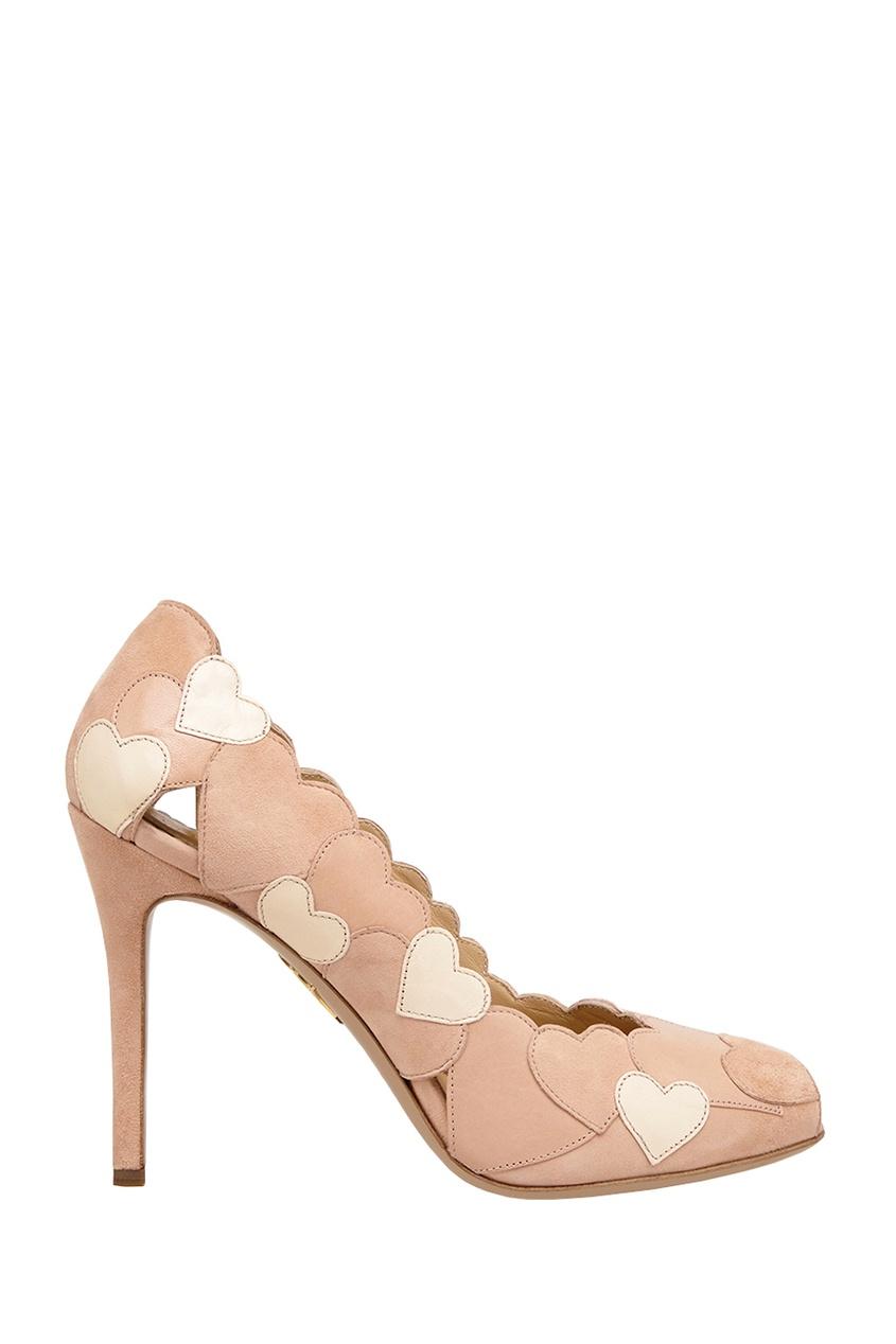 Замшевые туфли Love Me