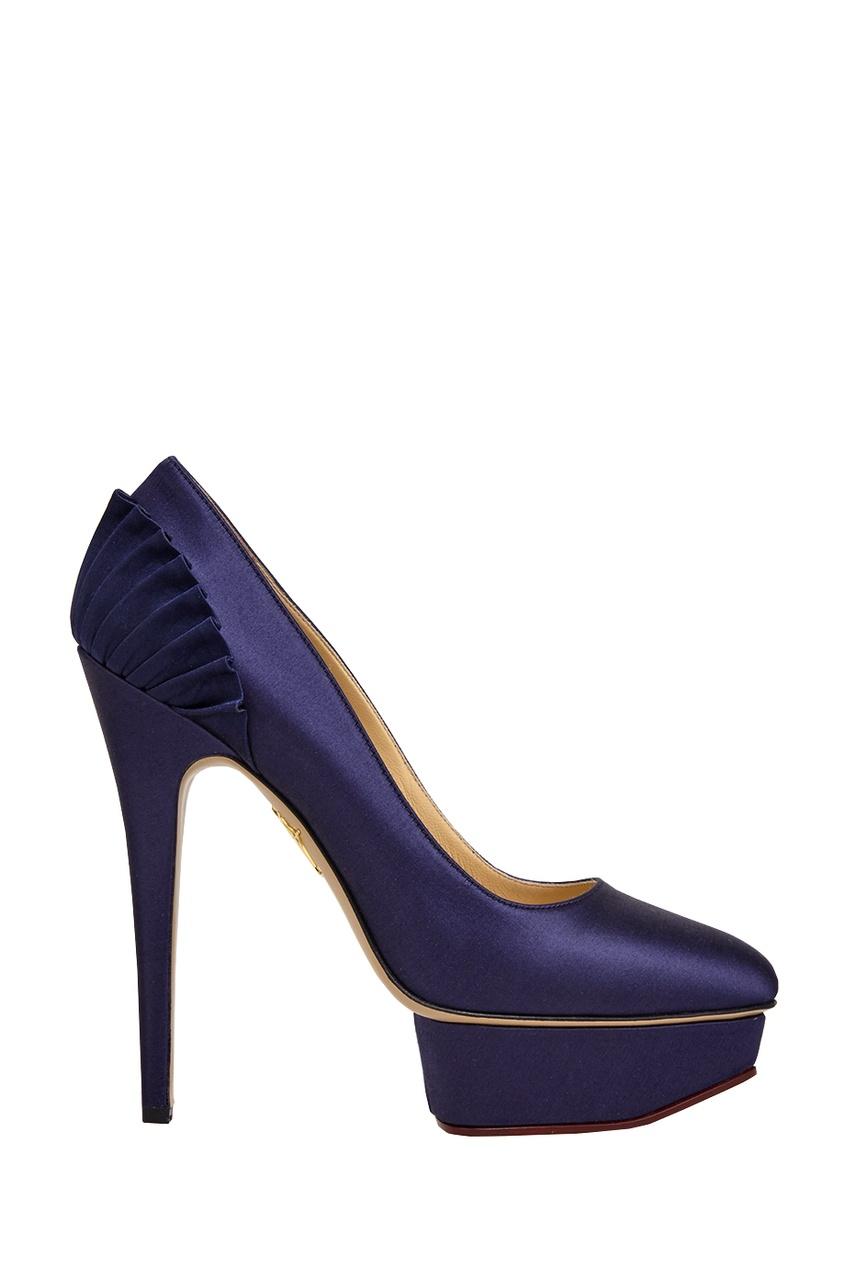 Атласные туфли Paloma