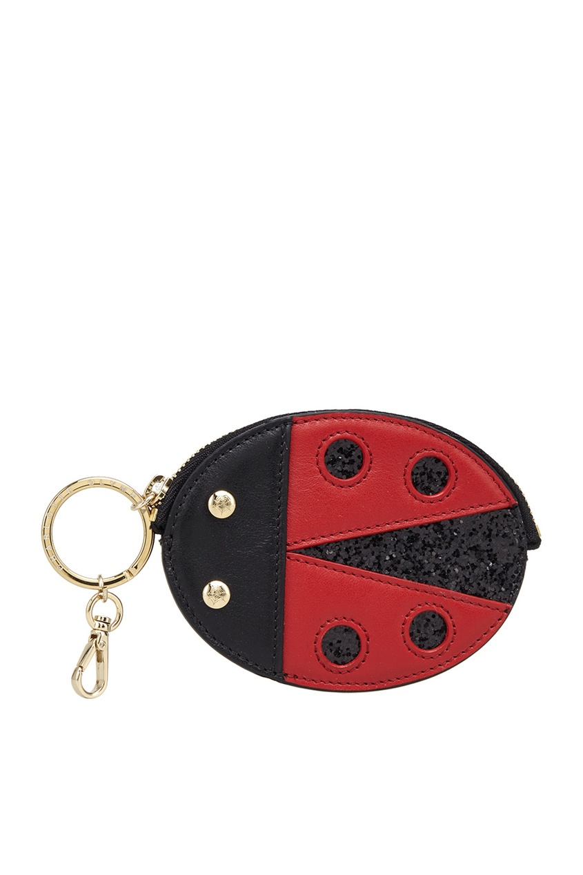 все цены на  Charlotte Olympia Кожаная ключница Bug Keychain  в интернете