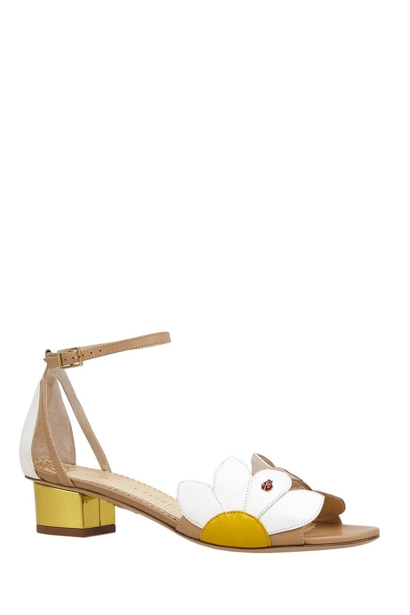 Кожаные босоножки Innocent Sandals от AIZEL