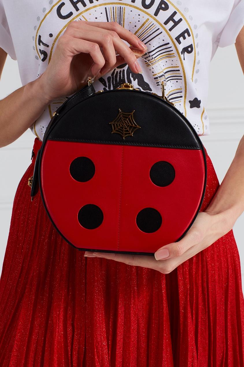 Кожаная сумка Lucky Atkinson