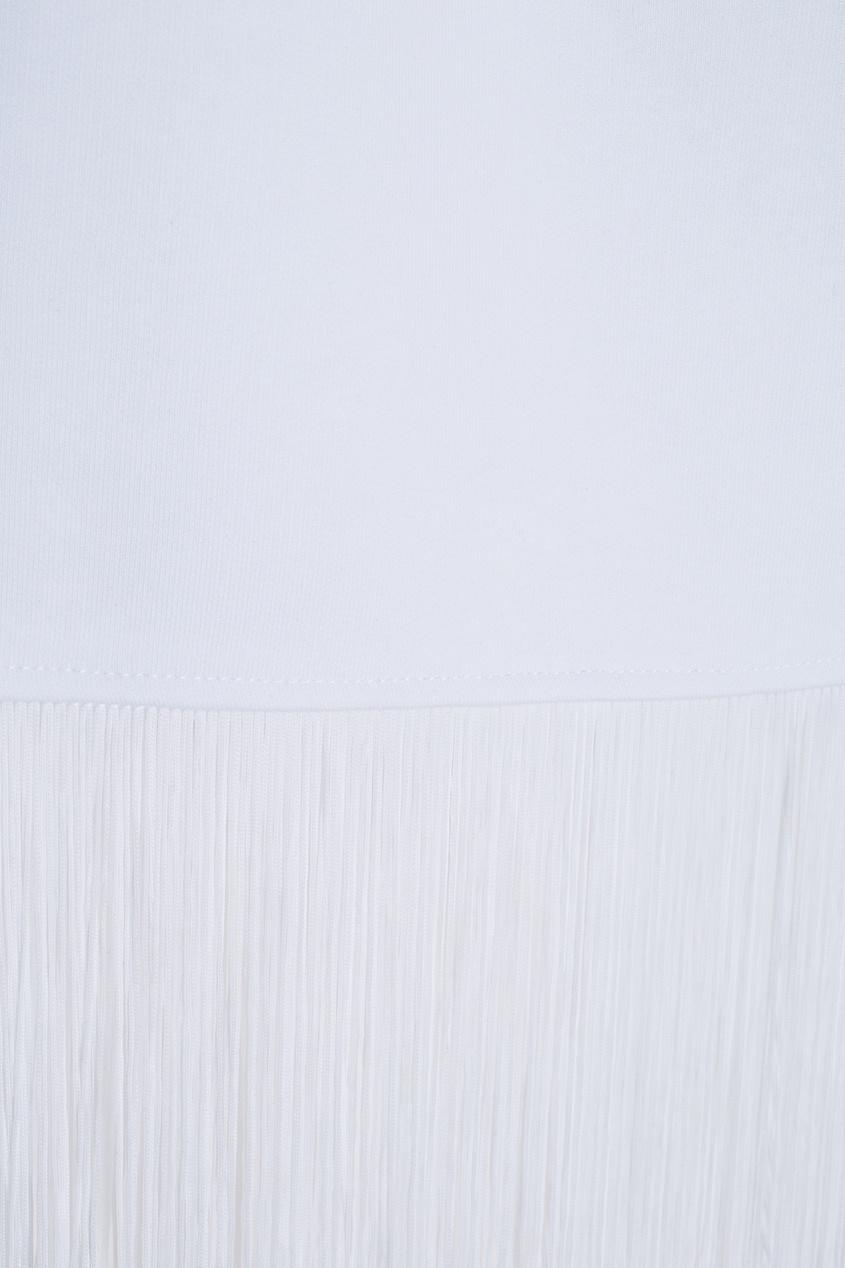 KATЯ DOBRЯKOVA Хлопковая юбка Fringe Basic Skirt