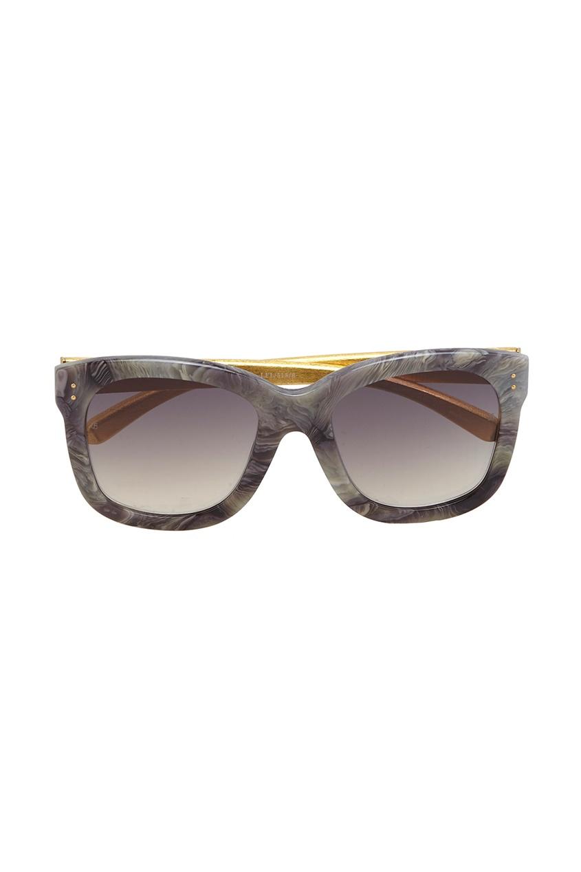 Linda Farrow Солнцезащитные очки linda farrow розовые солнцезащитные очки linda farrow x no 21