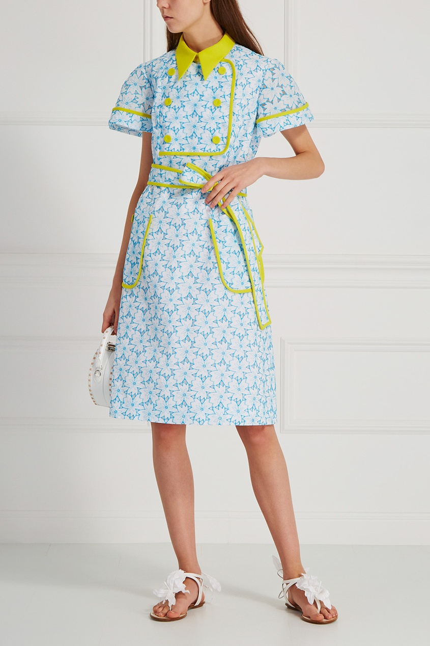 Delpozo Хлопковое платье