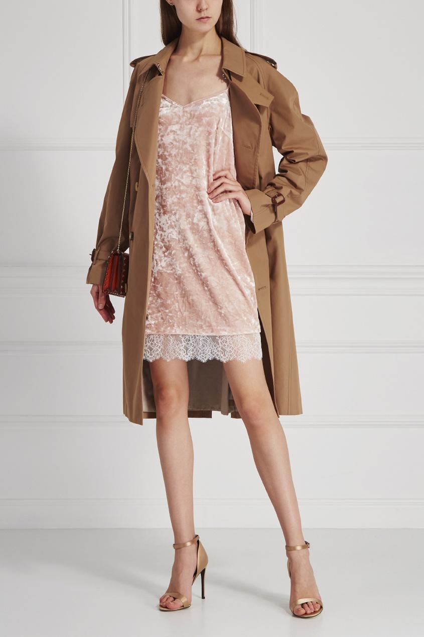 T-Skirt Бархатное платье