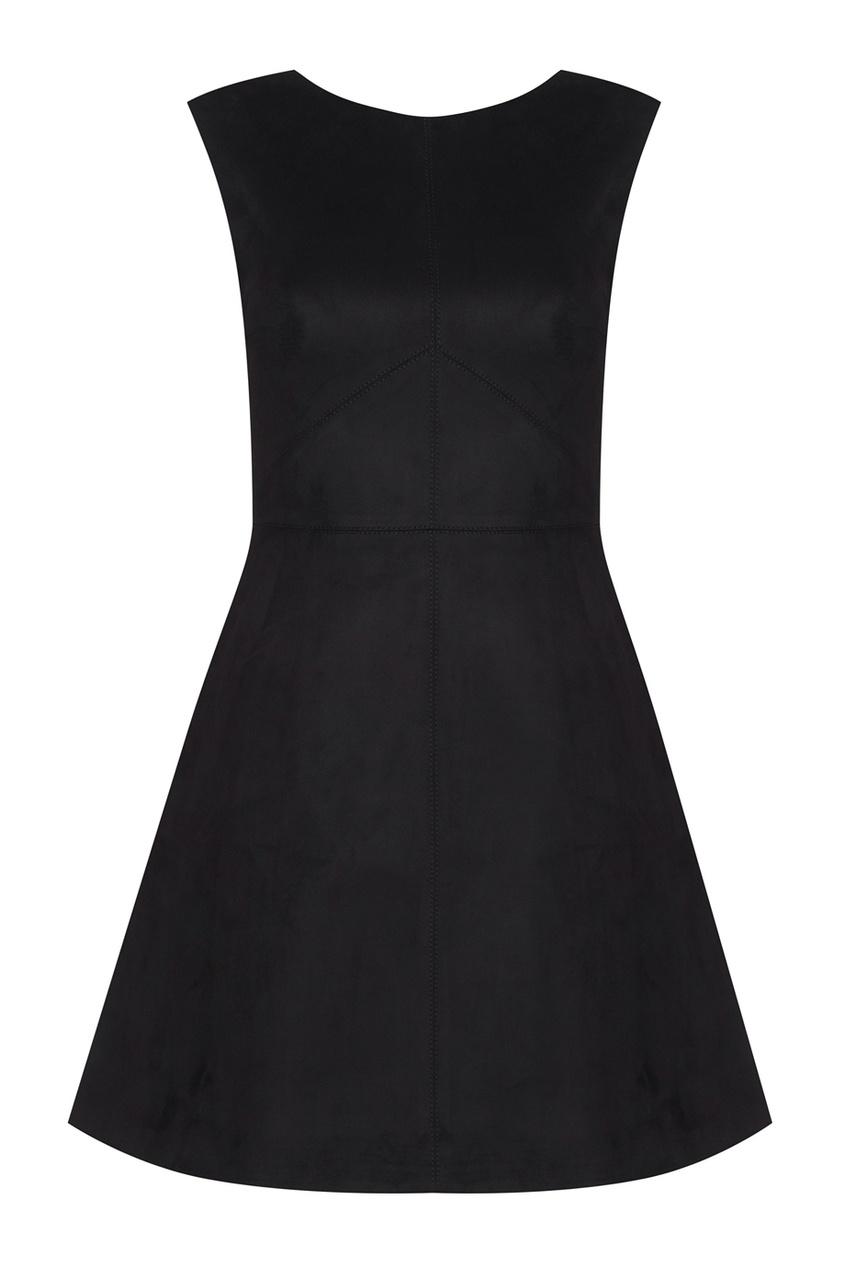 T-Skirt Однотонное платье