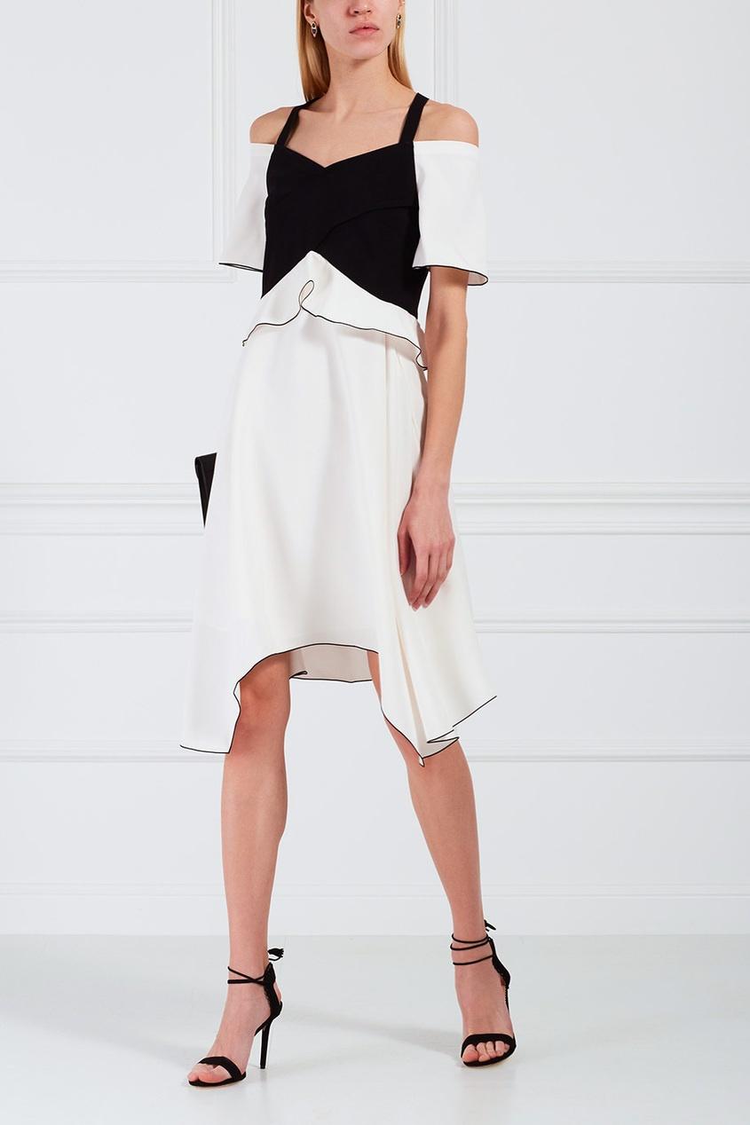 Proenza Schouler Комбинированное платье