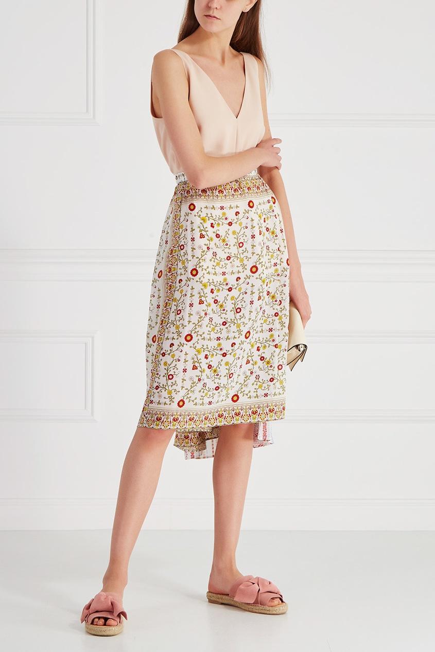 Шелковая юбка