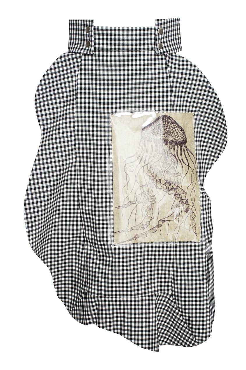 A.W.A.K.E. Асимметричная юбка в клетку напильник truper т 15240