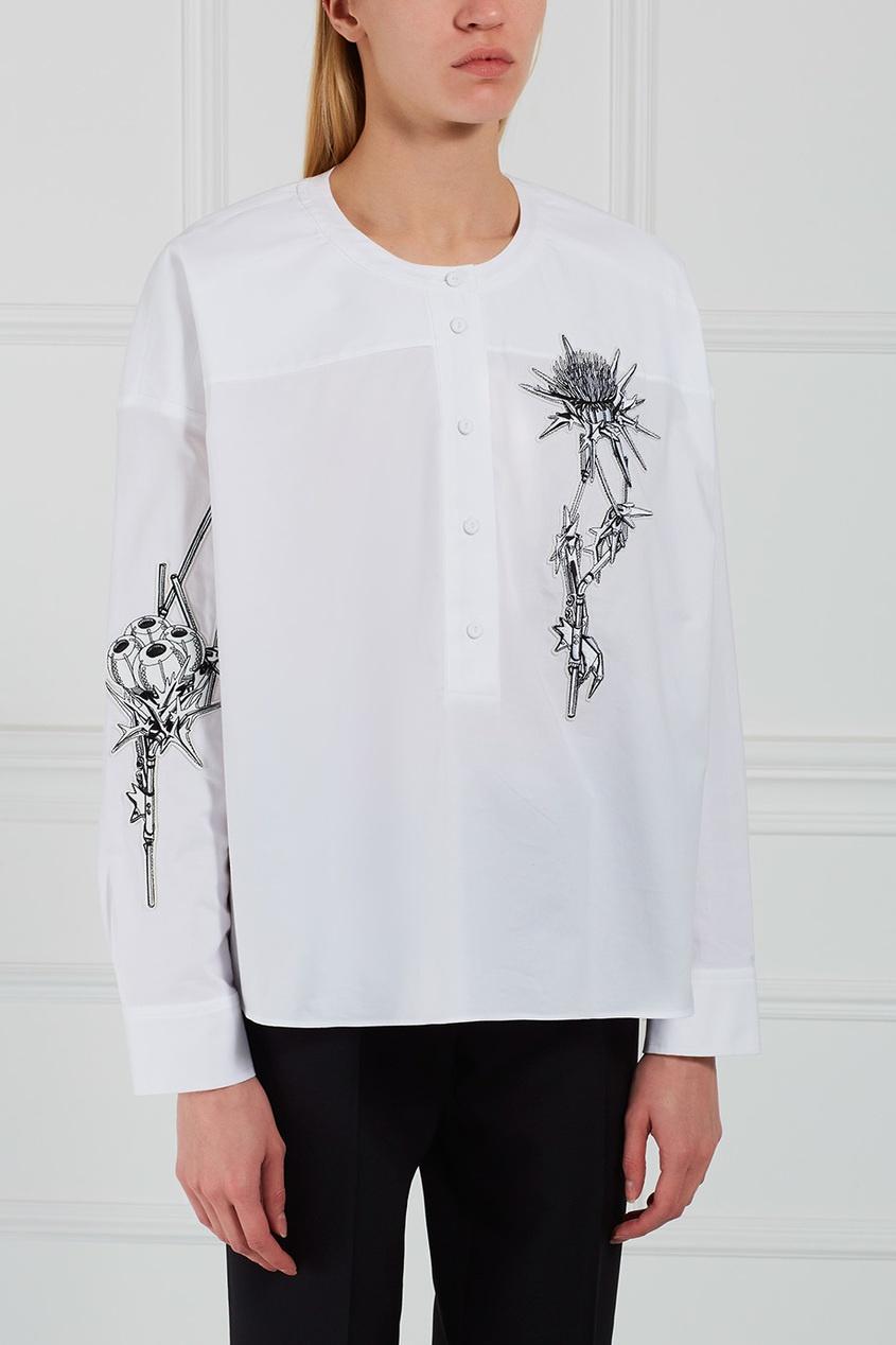 Carven Хлопковая блузка