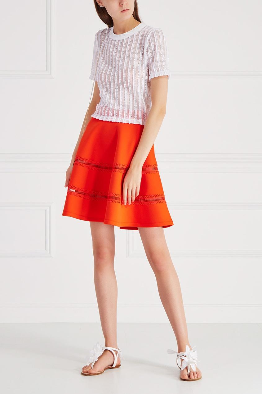 Carven Хлопковая юбка