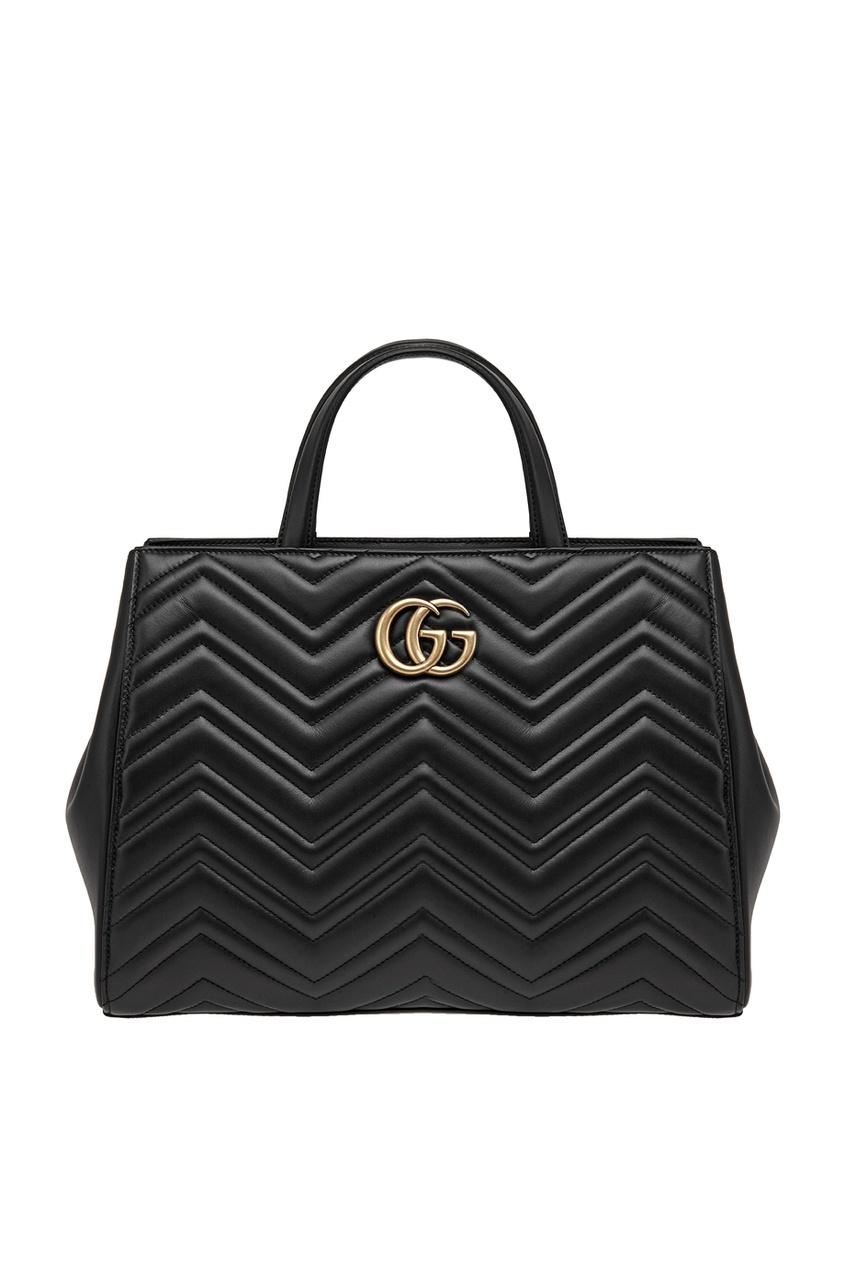 Кожаная сумка Marmont