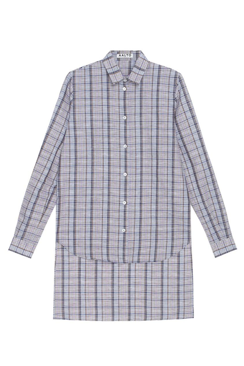 Рубашка с удлиненной спинкой