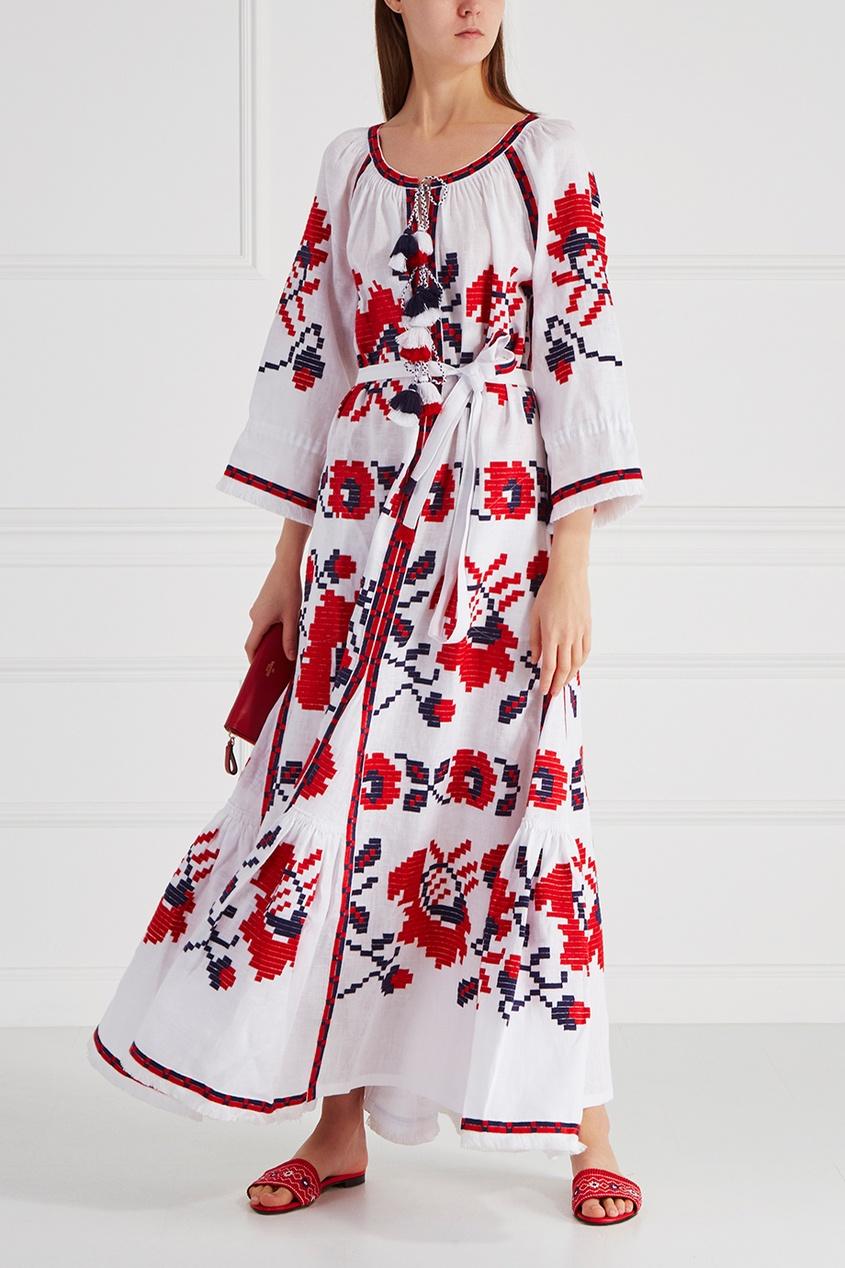 Льняное платье Panels Poppy