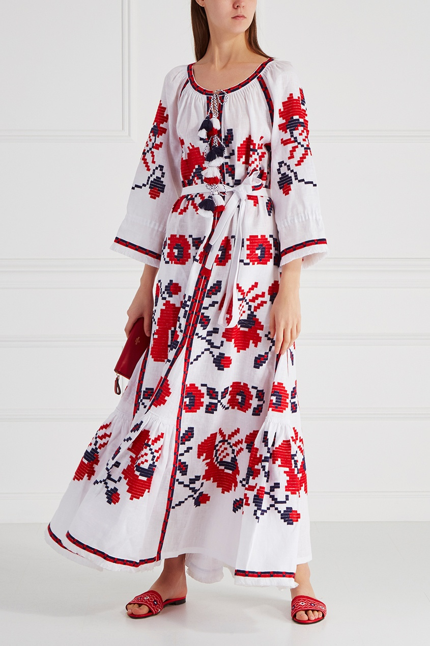 Vita Kin Льняное платье Panels Poppy happy kin набор фигурок лошади
