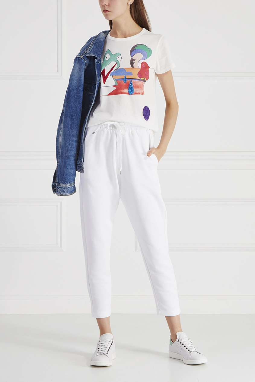 Marc Jacobs Хлопковая футболка