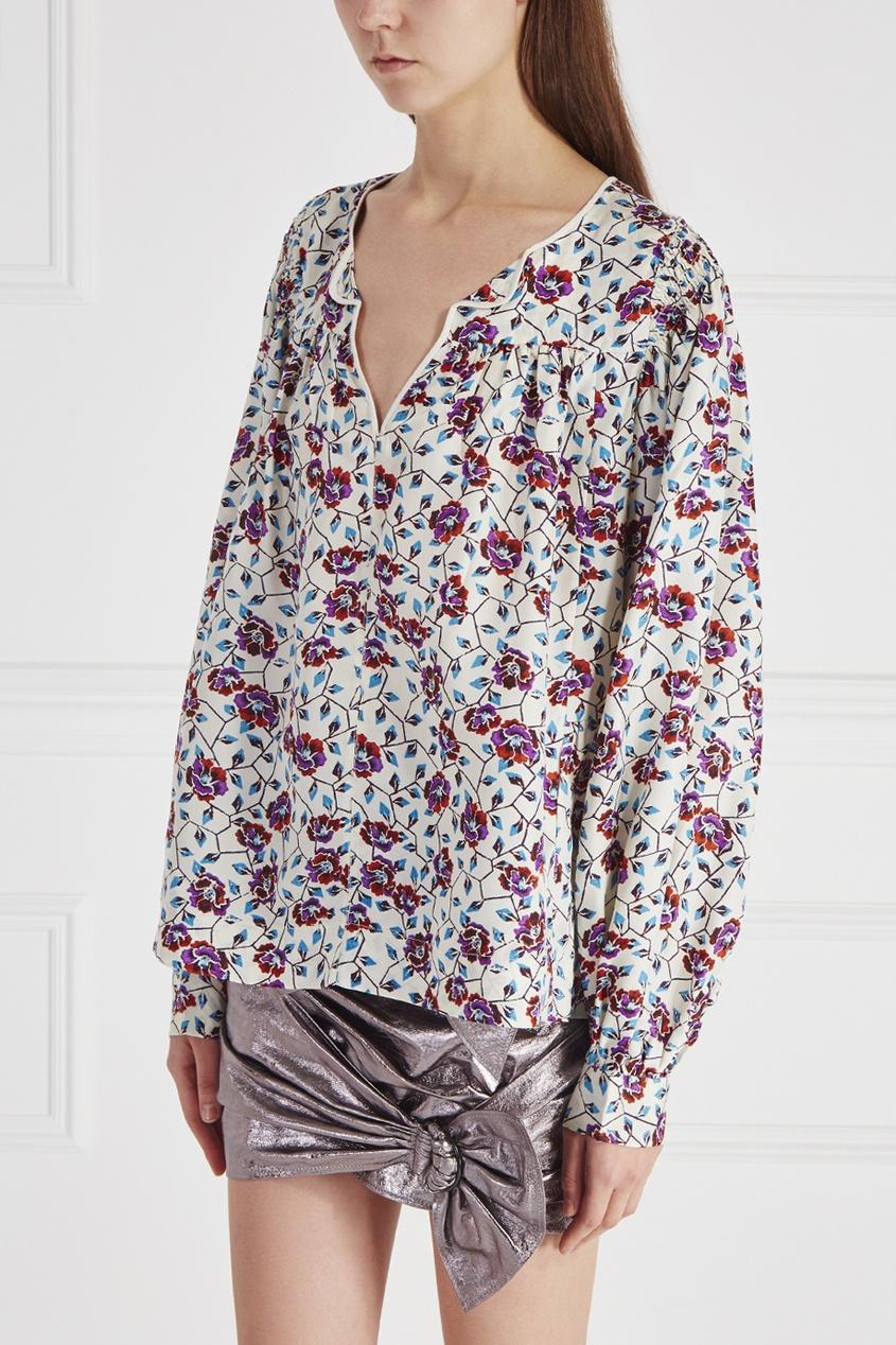 Шелковая блузка Ryton