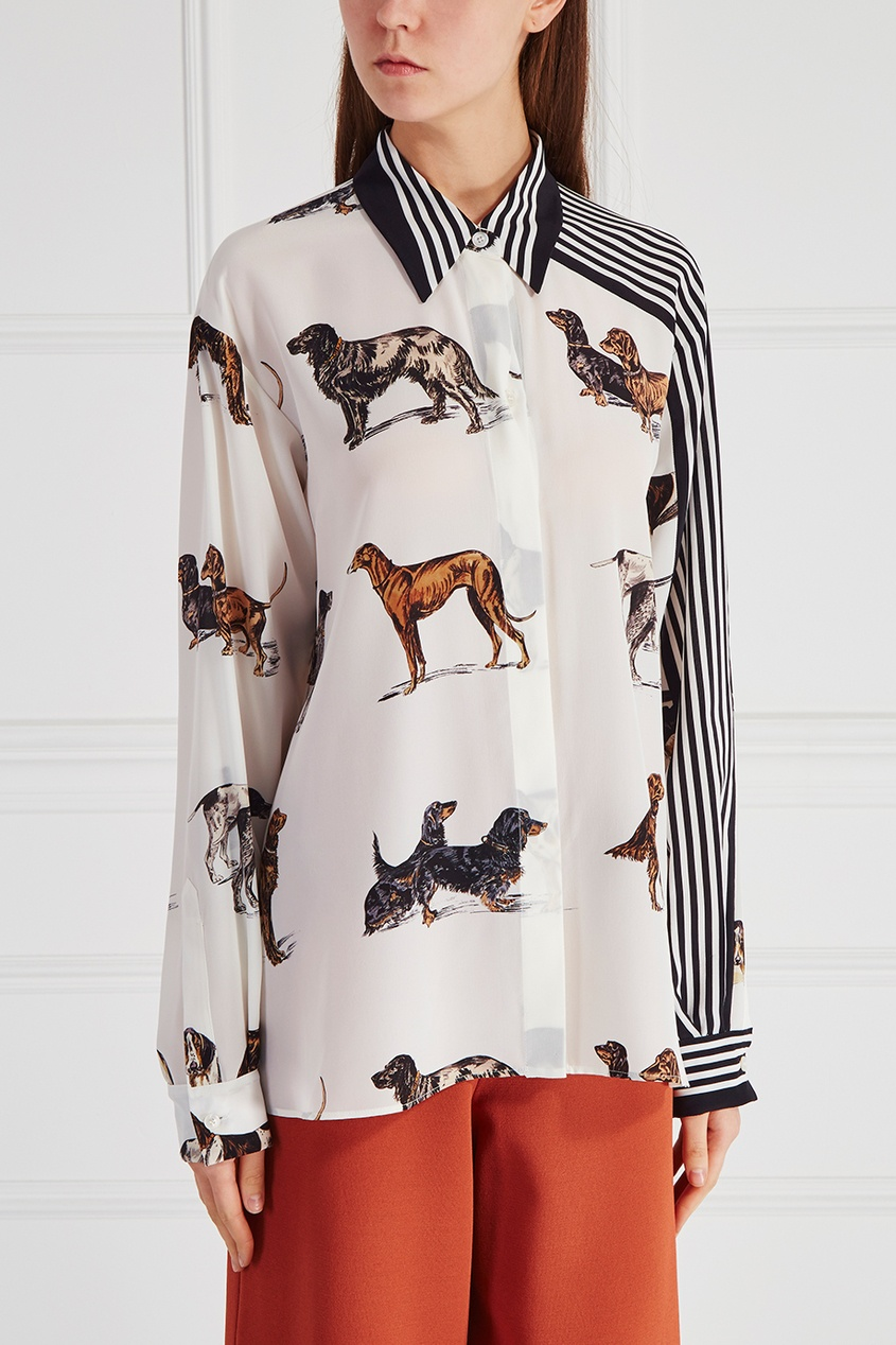 Stella McCartney Шелковая блузка