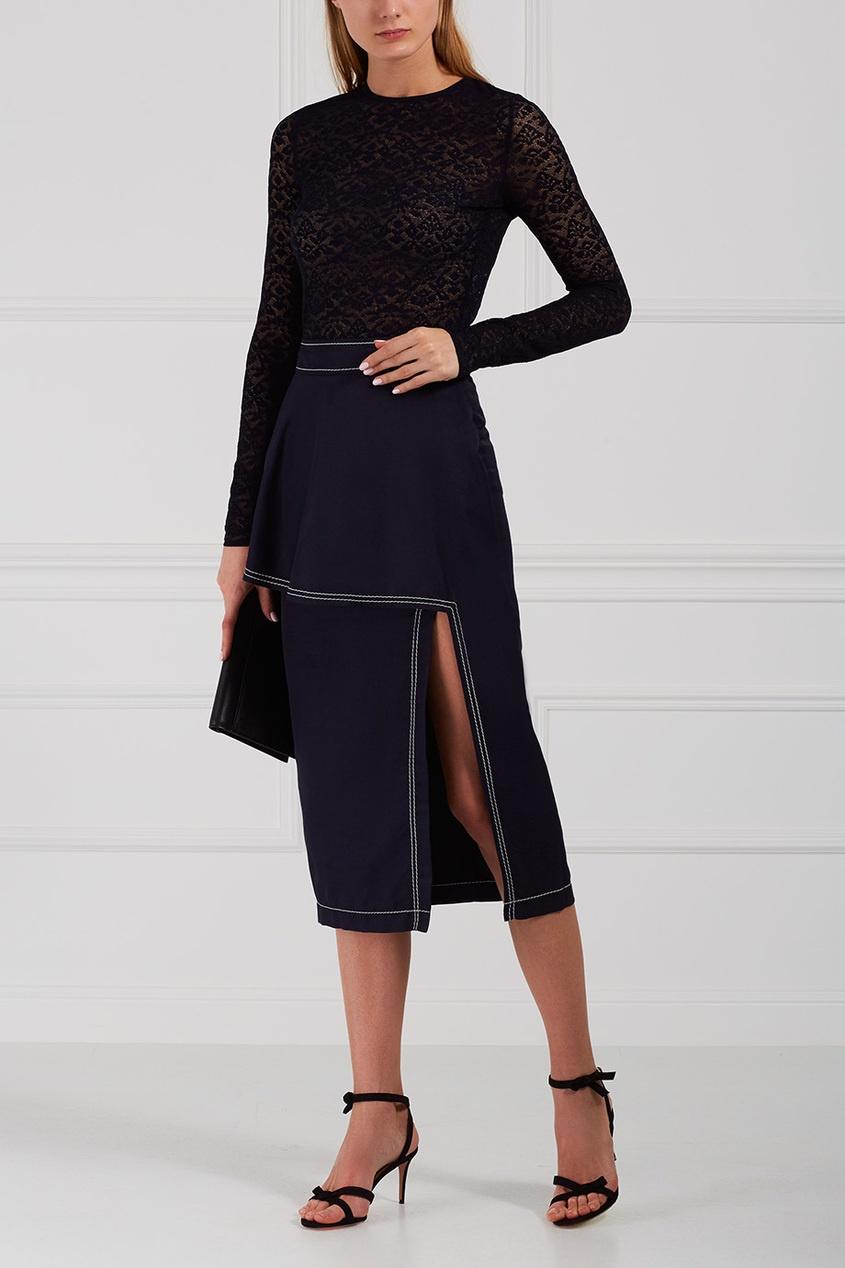 Stella McCartney Гипюровая блузка