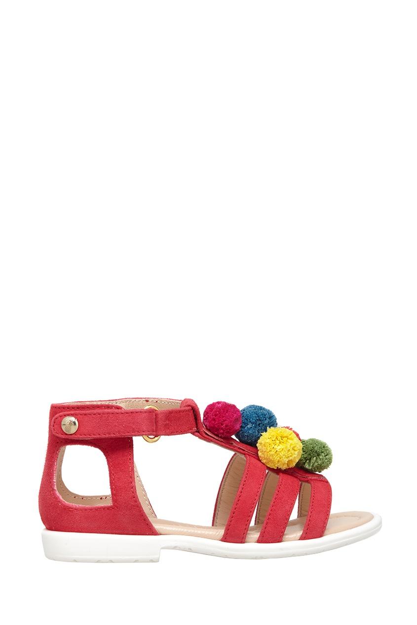 Замшевые босоножки Pom Pom Sandal Baby