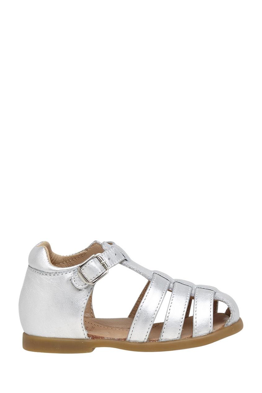 Кожаные сандалии Fancy Papy