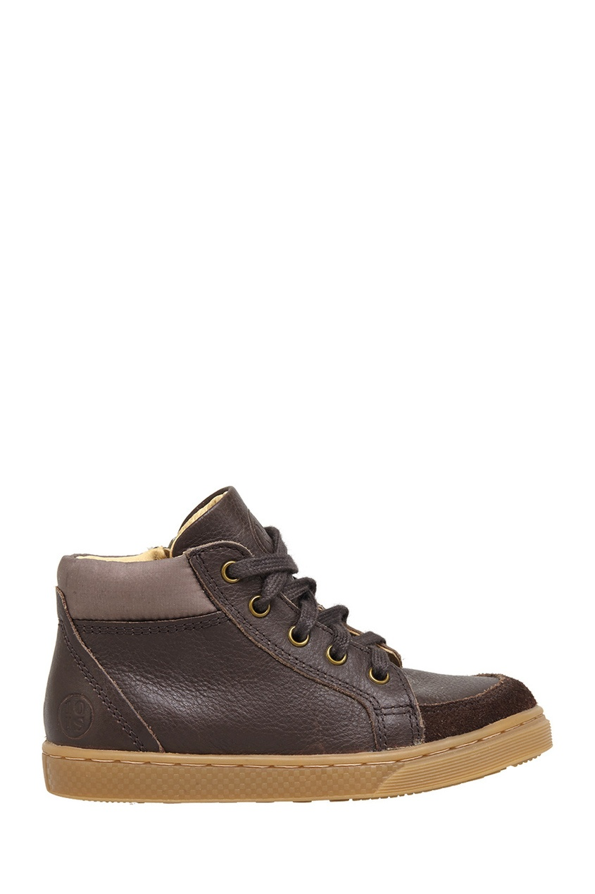 Кожаные ботинки Ten Base Lace