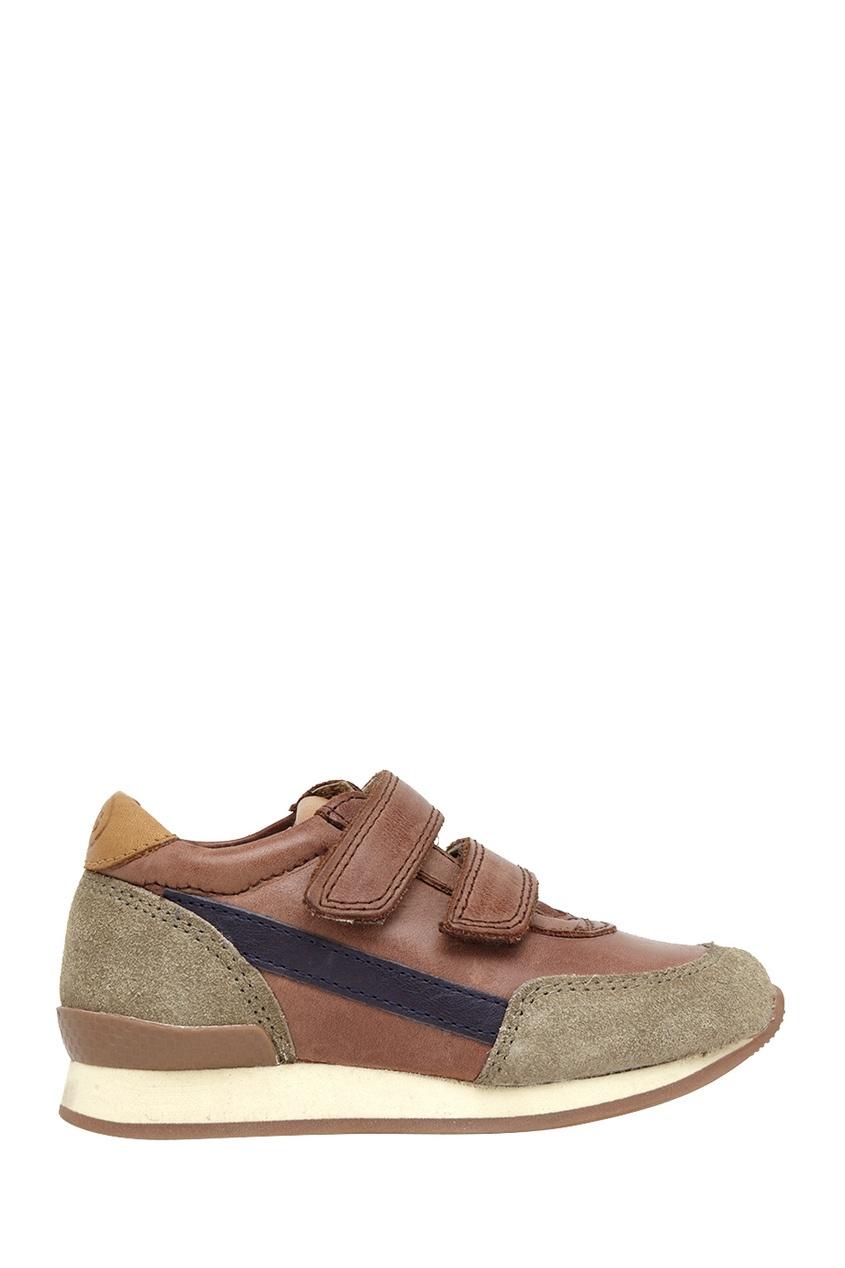 Кожаные кроссовки Ten Jog Leather