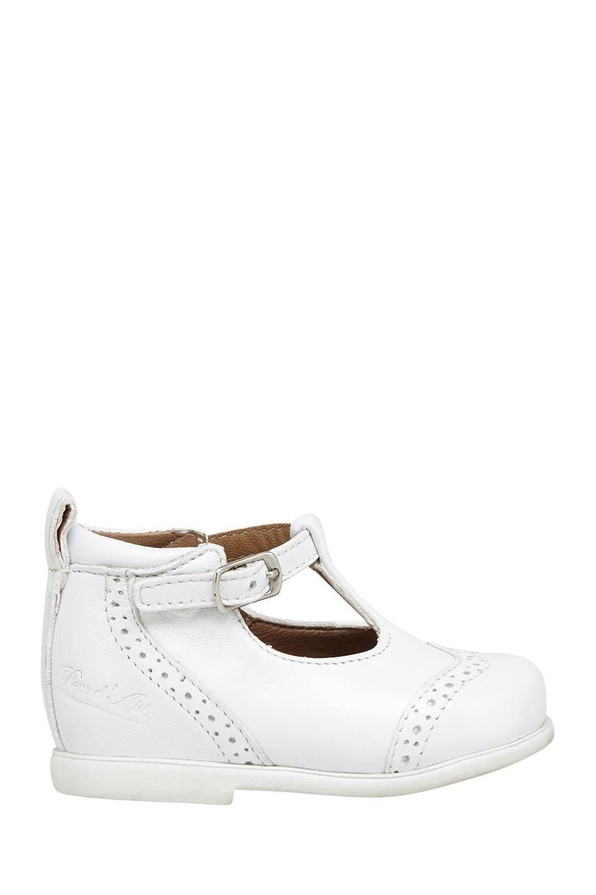 Pom D'Api Кожаные туфли Nioupi Salome