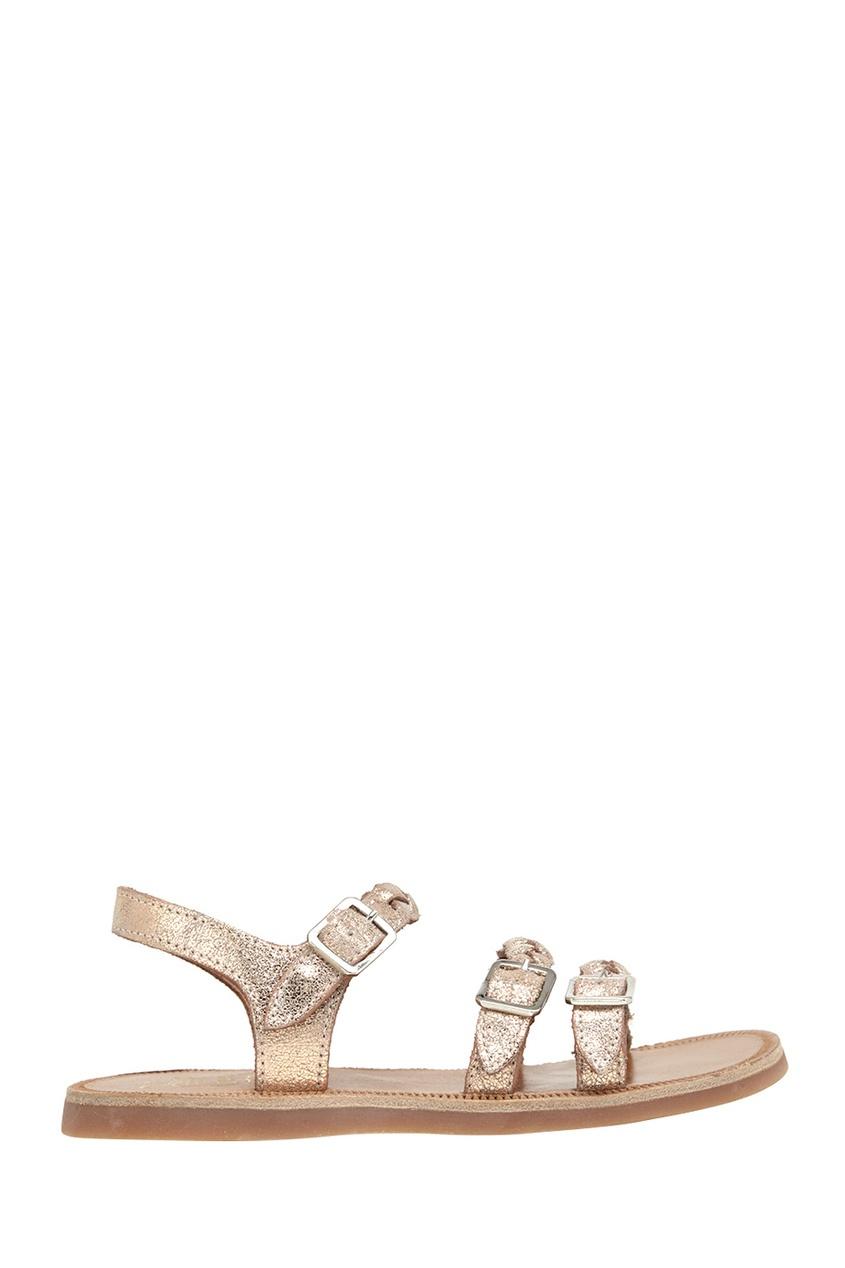 Кожаные сандалии Plagette