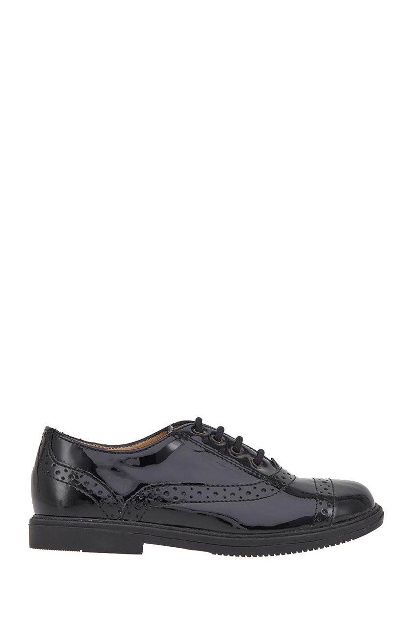 Кожаные ботинки-броги City Richelieu
