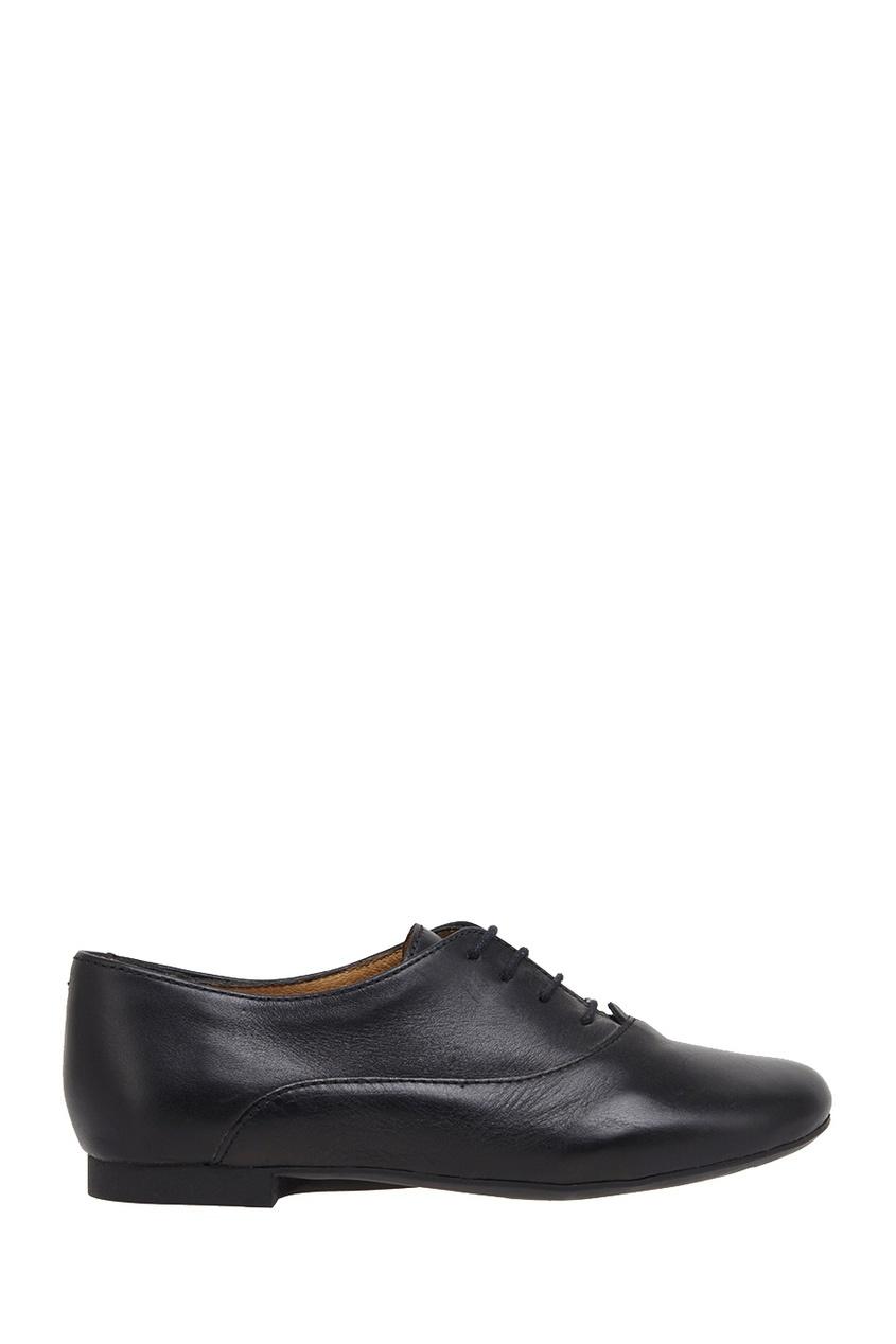 Кожаные ботинки-оксфорды New Bal