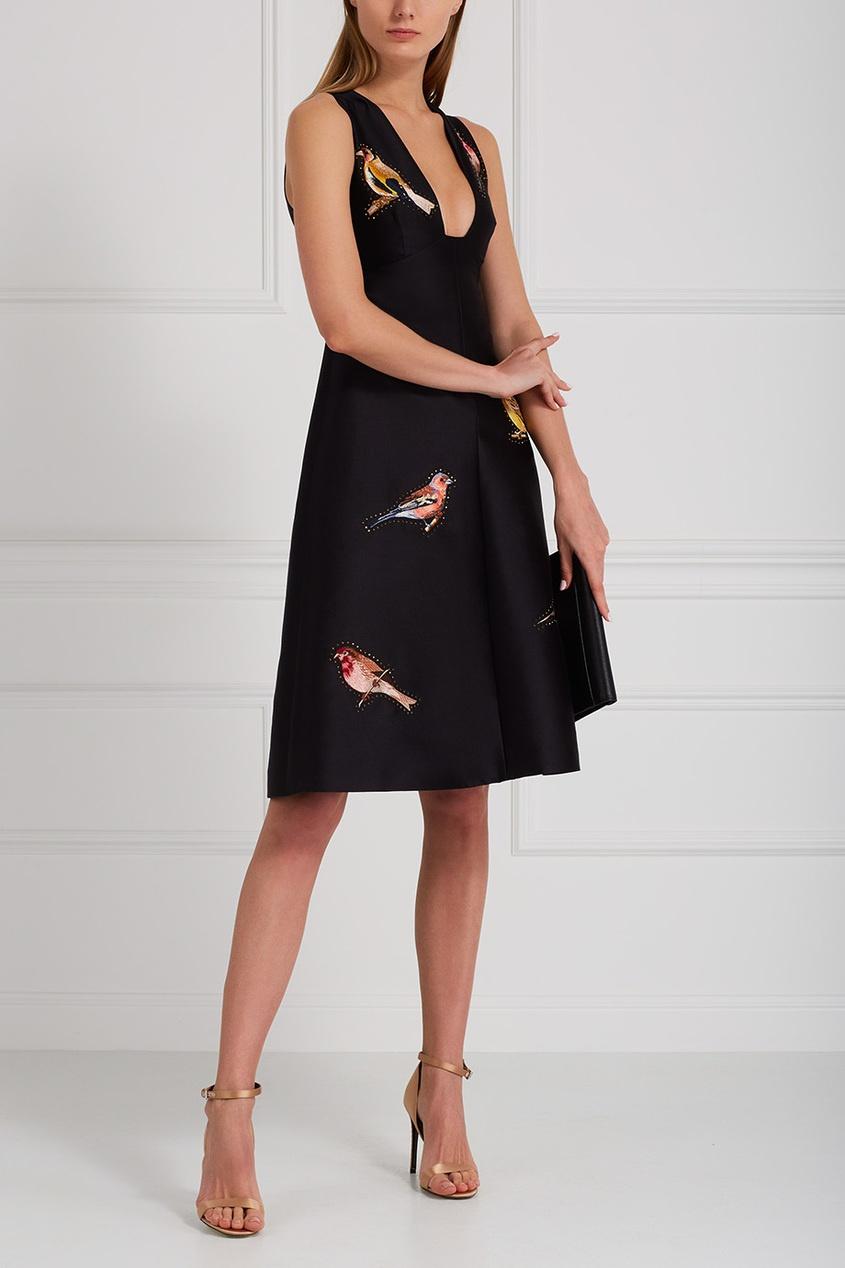 Stella McCartney Хлопковое платье Kaitlyn