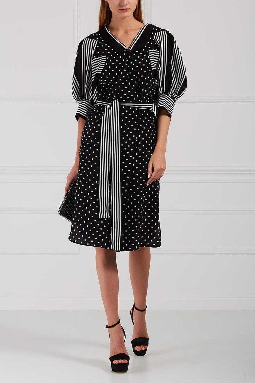Stella McCartney Шелковое платье Valeria stella mccartney платье от stella mccartney 97511