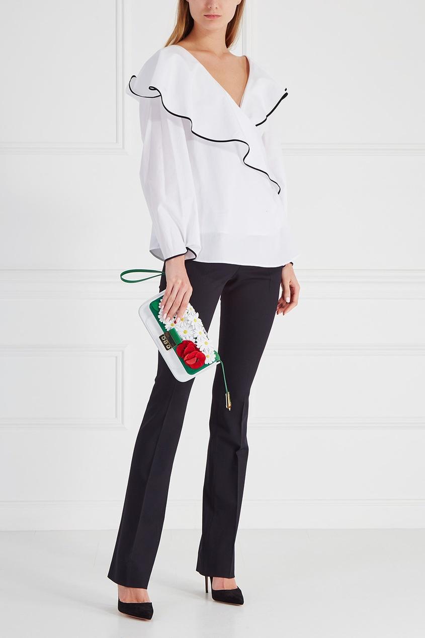 Diane von Furstenberg Хлопковая блузка