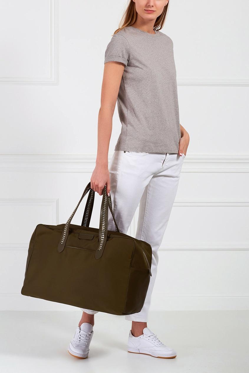 Однотонная сумка Falabella