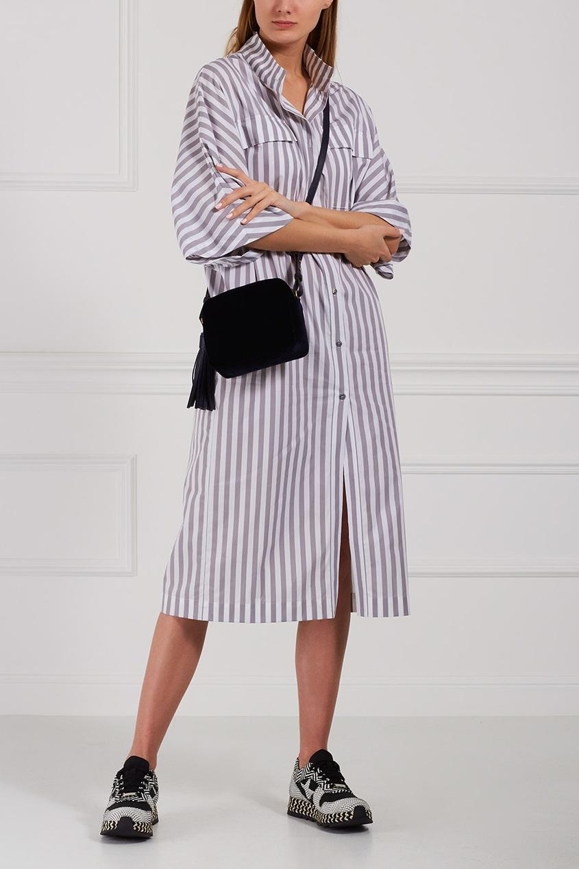 Stella McCartney Комбинированные кроссовки Macy