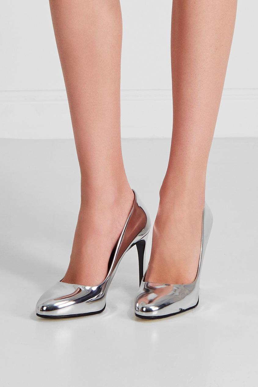 Stella McCartney Металлизированные туфли