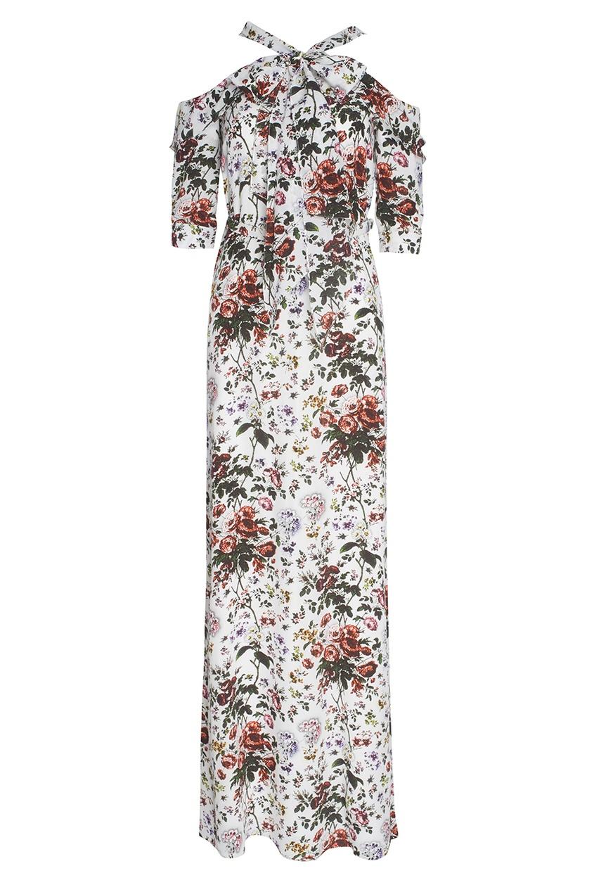 Шелковое платье Annaliese.