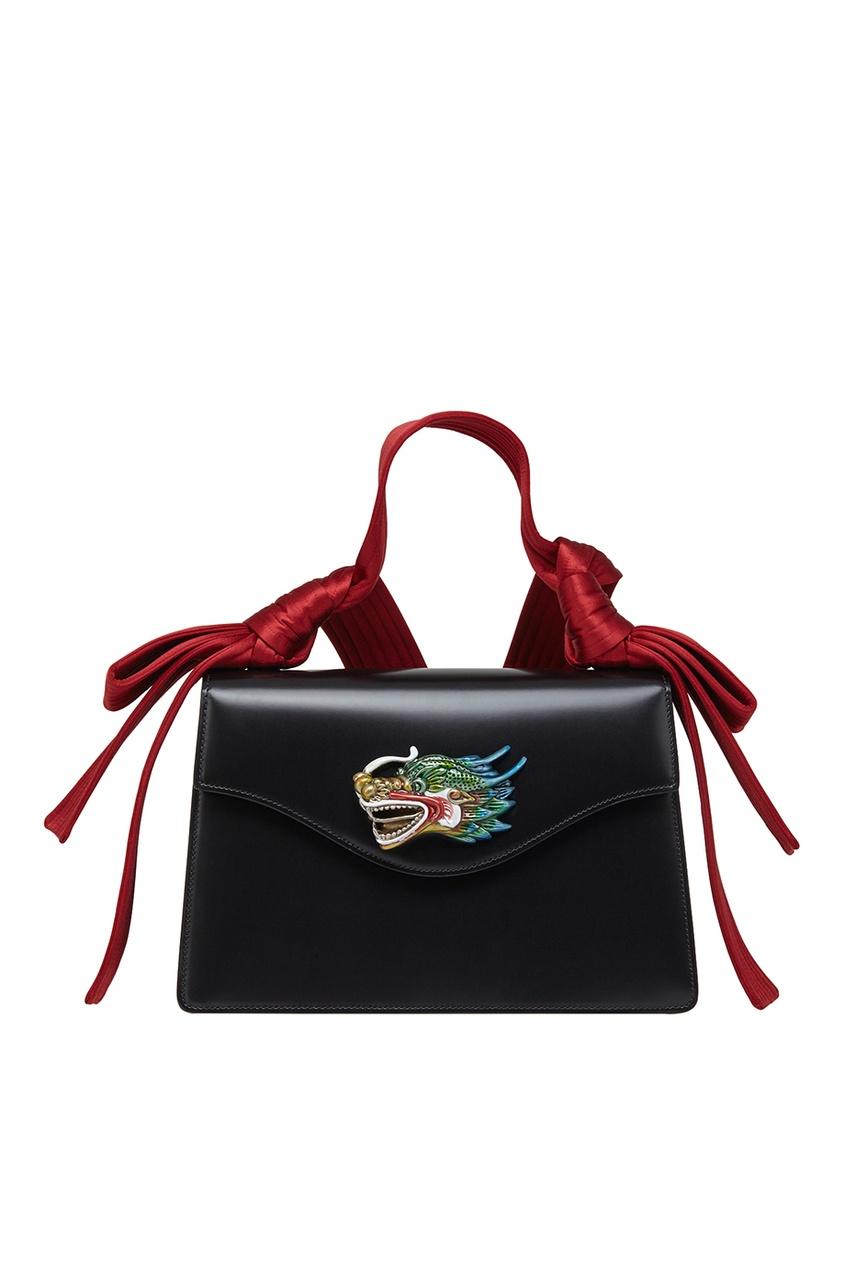Кожаная сумка Naga Dragon