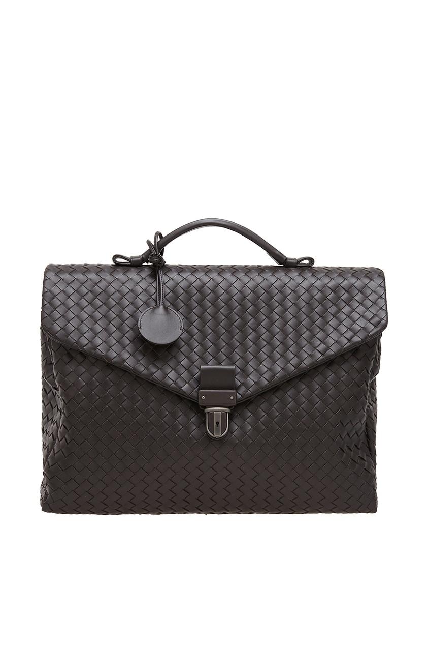 Bottega Veneta Кожаный портфель